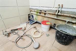 материалы для ремонта в ванной