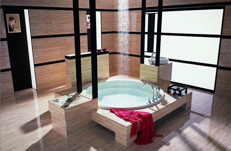 Ванная комната вяпонском стиле2