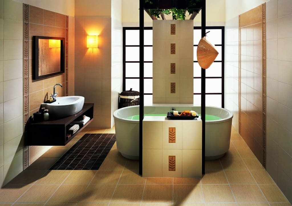 Ванная комната вяпонском стиле5