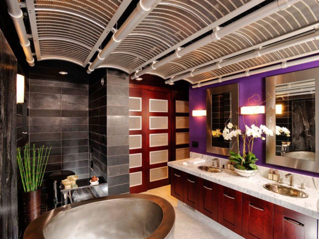 Ванная комната вяпонском стиле6