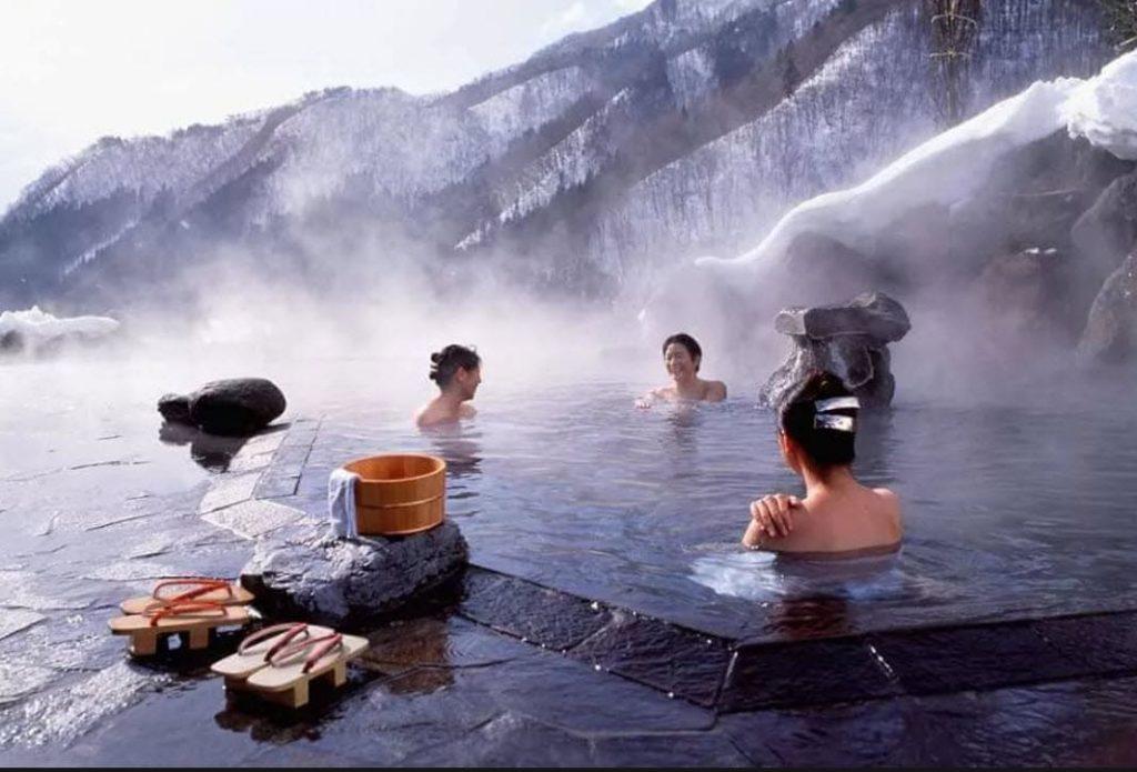 японки в бане